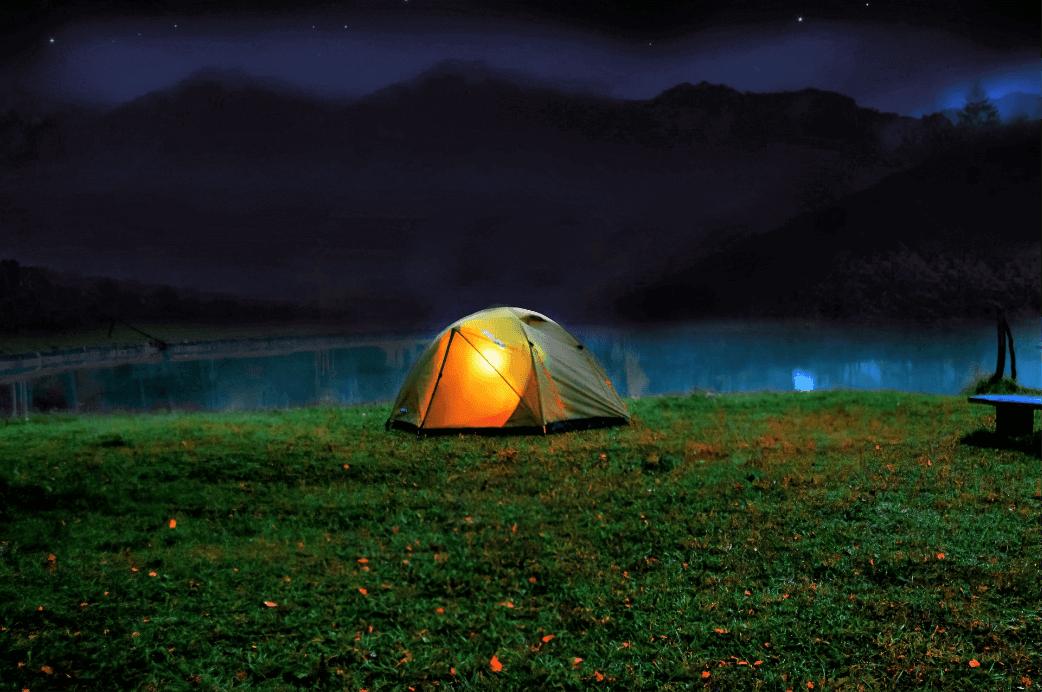 ENECTRON利用シチュエーション:キャンプ場