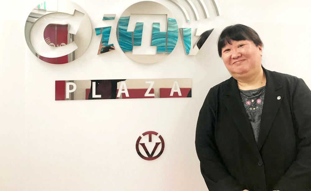 CITV 営業部 廣幡裕子の写真